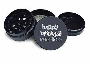 Personalised Happy Birthday Grinder