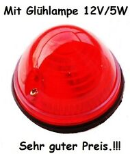 Traktor Schlepper Oldtimer ( Positionsleuchte + Glühlampe ) Rücklicht Blinker