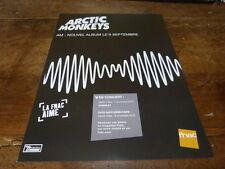 ARCTIC MONKEYS - PUBLICITE / ADVERT AM !!!