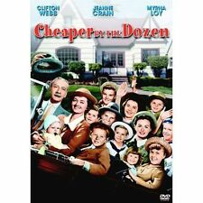 Cheaper by the Dozen (DVD Full Frame) RARE 1950 0RIGINAL VERSION BRAND NEW OOP!!