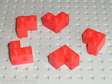 Brique d'angle rouge RED Brick 2 x 2 Corner 2357 LEGO / Set 10018 8654 10027 ...