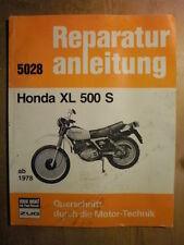 Honda XL 500 S PD01 ab 1979 Reparaturanleitung Handbuch