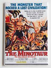 Minotaur Wild Beast of Crete Fridge Magnet (2 x 3 inches) movie poster mythology