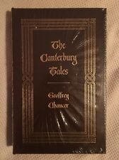 Canterbury Tales Geoffrey Chaucer Easton Press SEALED 100 Greatest Leather