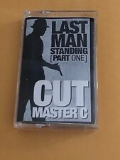 DJ CUTMASTER C The Last Man Standing TAPE KINGZ NYC Hip Hop Cassette Tape 90s