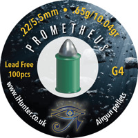 iHunter Prometheus G4 .22/5.50 Lead Free airgun pellets  (100ct) Free P&P  L121
