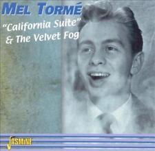 MEL TORM' - CALIFORNIA SUITE/THE VELVET FOG NEW CD
