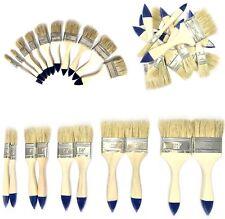 10 tlg. Flachpinsel Set für Farbe Lack Lasur - lösungsmittelbeständig - Original