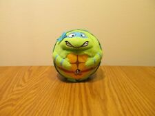 "Ty Beanie Boos Leonardo 4"" Ball Tmnt Teenage Mutant Ninja Turtles Euc"