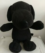 More details for snoopy peanuts kaws x plush uniqlo brand new large black free postage
