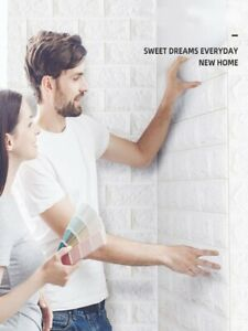 Wall Stickers 3D Self Adhesive Foam Brick Room Decor DIY Wallpaper Wall For Home