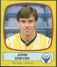 PANINI FOOTBALL 88-#200-OXFORD UNITED-JOHN DREYER