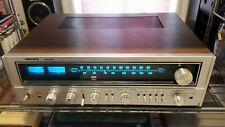 Nikko STA-8085 vintage 70s stereo receiver blue light wood silver beautiful