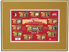 Florida State Seminoles 1999 National Champions Framed Commemorative Print