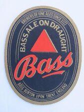 Beer Coaster Bar Mat ~*~ William BASS & Co, Burton on Trent ~ Brewers Since 1777
