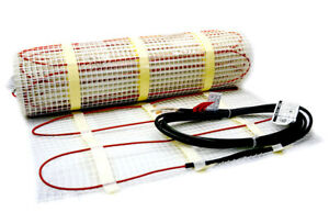 Heatwave Mat Floor Heating System 120V 50 sqft (USED - GREAT CONDITION)
