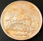 MEXICO Silver Medal 2oz. PROOF Plata Pura .999 FERROCARRIL Very Nice!