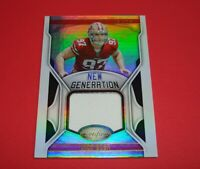 2019 Certified New Generation SF 49ers NICK BOSA Rookie Jersey Relic Card#NG-NB