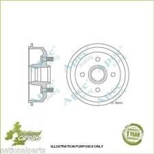 Apec Rear Brake Drum 216mm Mazda 121 MK III Ford Escort MK V VI VII Single (1)