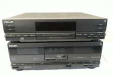 PHILIPS 70CD 310/00G FC310 DOUBLE CASSETTE DECK / CD310 COMPACT DISC PLAYER
