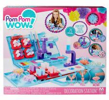 New Pom Pom Wow! - Decoration Station Kids' Craft Kit Play Set