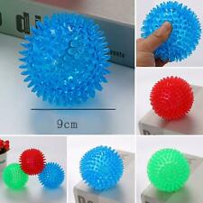 Pet Dog Ball Funny TPR Toy Chew Squeaker Squeaky Sound Dog Cat Play Bite Toys