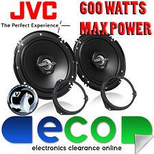 Vauxhall Corsa D Combo 2006-14 JVC 17cm 600 vatios 2 Altavoces De Coche Manera Puerta Frontal