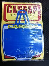 Old School BMX Cassap CUSTOM PLATE BLUE (NOS)