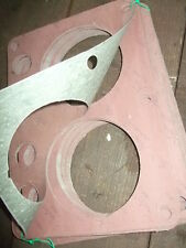 2x Zylinderblock-Fußdichtung Kautasit 0,5mm,Fortschritt,IFA,W50,S-4000,ZT,DDR
