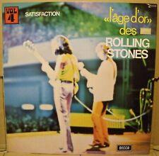 The Rolling Stones* – «L'âge D'or» Des Rolling Stones - Vol 4 - Satisfaction LP