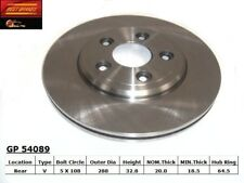 Disc Brake Rotor-Base Rear Best Brake GP54089