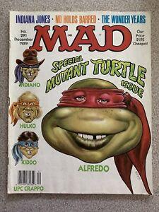 Vintage Mad Magazine #291 (Dec 1989), Special Mutant Turtle Issue