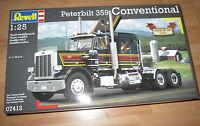 Revell Peterbilt 359 Conventional, Revell 07412 Bausatz Kit in 1: 25