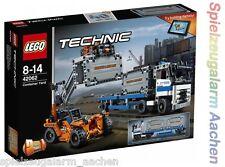 LEGO Technic 42062 Container Transport Portalhubwagen mit Lastwagen Contai N1/17