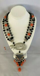 Butler and Wilson Large Shrimp Necklace