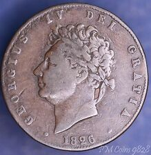 1826 George IV Half penny 1/2d coin  *[9827]
