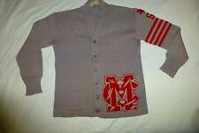 Vintage High School Lettermen's Sweater Mt Clemens Michigan Star Jack Krause