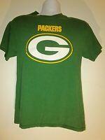 VINTAGE Green Bay Packers shirt MEN Medium M/M Aaron Rodgers team NFL football