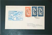 Portugal 1939 Horta to USA First Flight Cover - Z3354