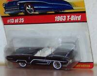 Hot Wheels Classics Series 1  1963 T-Bird Ford Thunderbird Color: Black