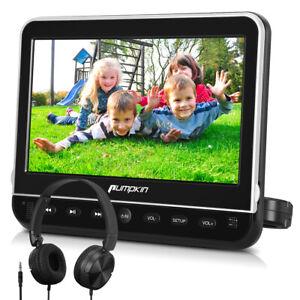 """10.1"""" Full HD Auto Monitor Kopfstütze KFZ DVD Player 1080P HDMI USB SD+Kopfhörer"""