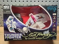 Vintage Ed Hardy Thunder FIghter Infrared Remote Control by Christian Audigier