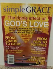 Simple Grace October 2016 The Ripple Effect of God's Love FREE SHIPPING