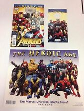 The Avengers The Heroic Age complete set 1 through 34 plus variants & 12.1 24.1