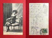 AK BRAUNAU in Böhmen 1906 Miss Brückner Soubrette     ( 44320