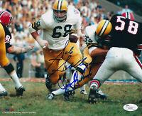 PACKERS Jim Grabowski & Gale Gillingham signed 8x10 photo JSA AUTO Autographed