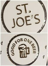 St. Joe's Punxsutawney PA good for 1 beer in trade token♤gft713♧