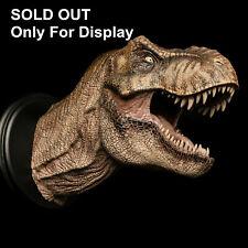 W-Dragon Female Tyrannosaurus Head Statue T Rex Dinosaur Decor Model Collector