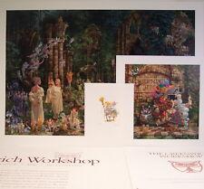 Court of Faeries + Remarque, Oldest Professor s/n Print Set by James Christensen