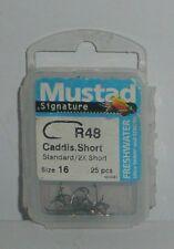 Mustad: hameçon mouche Caddie Short R48 N°18 par 25
